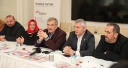 Murat Aydın Beykoz'da STK yöneticileriyle bir araya geldi!..