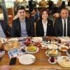 GİRESUNLULARDAN COŞKUN TOSUN'A MORAL KAHVALTISI!..