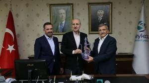 Numan Kurtulmuş ve Hasan Sert Beykoz'a Geldi!..