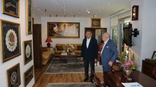 Başkan Murat Aydın, Türk Sinemasının Hafızası Türker İnanoğlu'nu Ziyaret Etti!..
