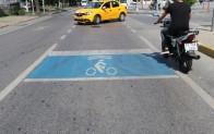 Mavi Bekleme Alanlarıyla Bisikletliler Daha Güvende!..