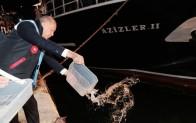 """Cumhurbaşkanı Erdoğan Poyrazköy'den """"Vira Bismillah"""" dedi!.."""