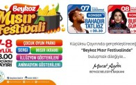 TARİHİ KÜÇÜKSU ÇAYIRINDA MISIR FESTİVALİ!..