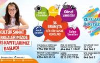 Kültür-Sanat ve Eğitim Kurs Kayıtları Başladı!..