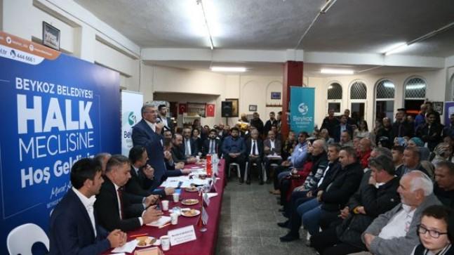 HALK MECLİSİ ORTAÇEŞME VE ÇAMLIBAHÇE İÇİN TOPLANDI!..