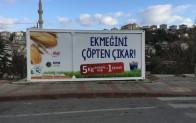 """SIFIR ATIK İÇİN """"EKMEĞİNİ ÇÖPTEN ÇIKAR"""" PROJESİ BEYKOZ'DA!.."""