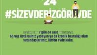 Beykoz'da 7/24 Koronavirüs Nöbeti!..