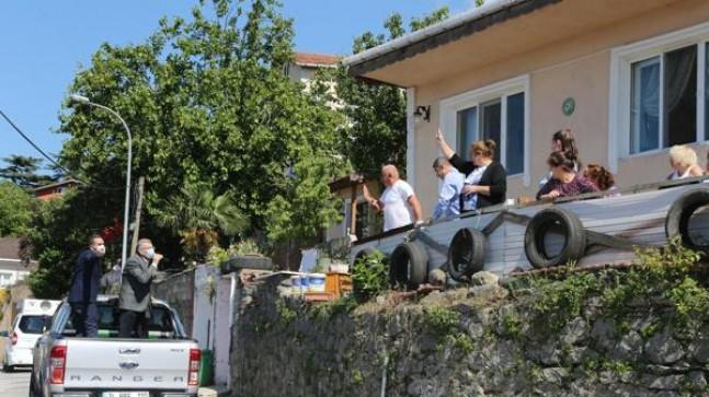 Başkan Murat Aydın Beykozluların Bayram Sevincini Paylaştı!..