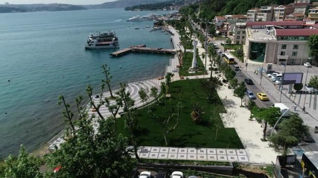 Beykoz Sahili Yeni Çehresine Kavuşuyor