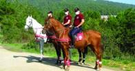 Atlı Polisler Beykoz Ormanlarında!…
