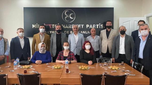 AK Parti'den MHP'ye Ziyaret!…