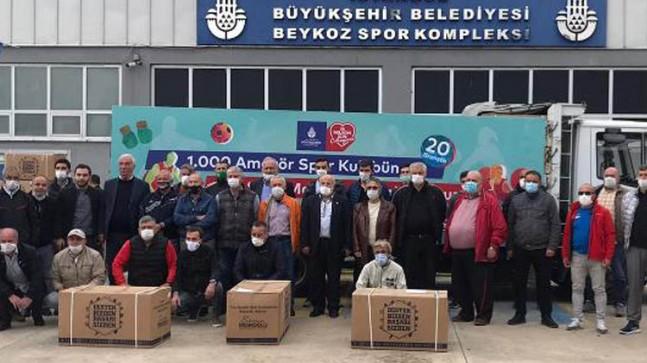 Beykoz Spor Kulüplerine İBB'den Destek!..