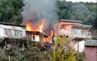 Yangın Mağdur Etti!..