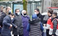 Beykoz AK Partiden  Polislere İkram!..