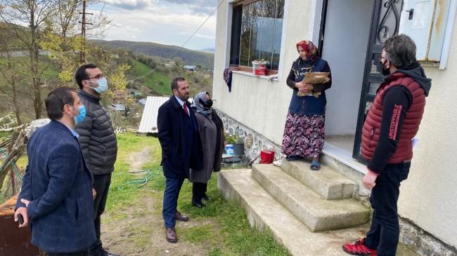 AK Parti Beykoz şehit ailelerini unutmadı!..