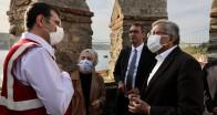 İmamoğlu Beykoz Anadolu Hisarı Restorasyon Çalışmalarında İnceleme Yaptı!…