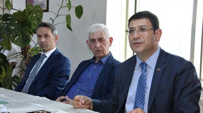 D. Karadenizliler Derneği Deva Partisi'ni Ağırladı!..