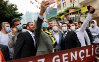 AK Parti İstanbul İl Başkanı Osman Nuri Kabaktepe, Beykoz'u ziyaret etti.