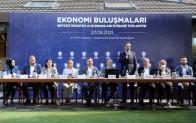 """Beykoz'da iş insanları """"Ekonomi Buluşmaları""""nda bir araya geldi"""