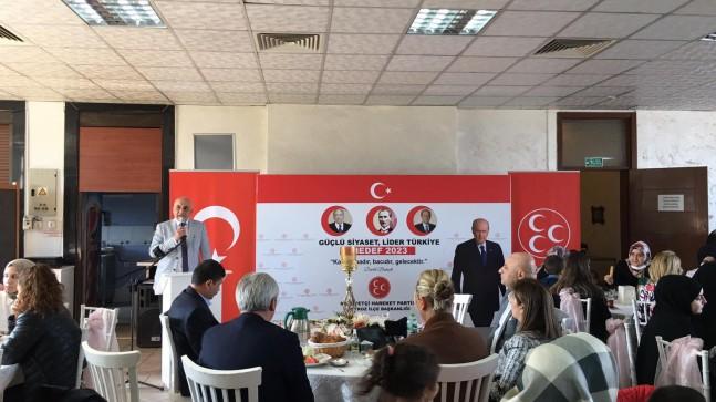 """MHP Beykoz: """"2023 seçimlerine hazırız"""" !.."""