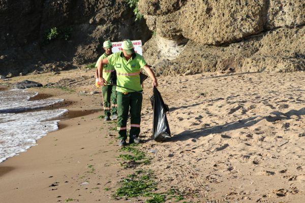Riva Plaj Temizliği Haberi-2019 (1)