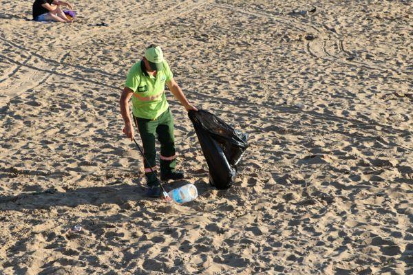 Riva Plaj Temizliği Haberi-2019 (3)