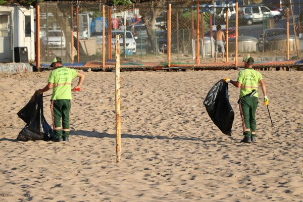 Riva Plaj Temizliği Haberi-2019 (6)