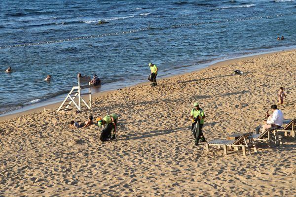 Riva Plaj Temizliği Haberi-2019 (7)