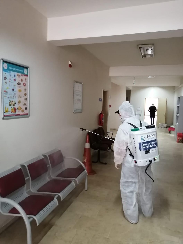 Koronavirüs İlaçlama Çalışması (5)