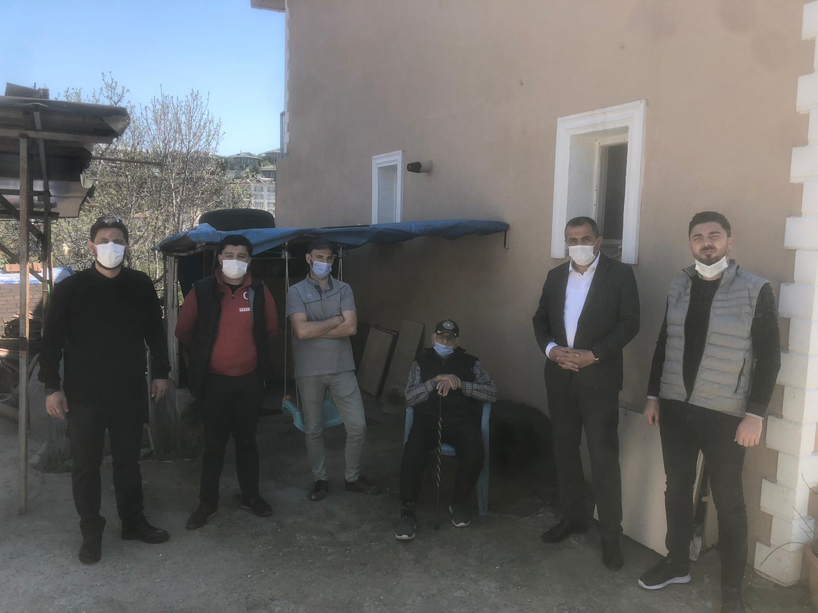 AK Parti Beykoz şehit ailelerini unutmadı! (1)