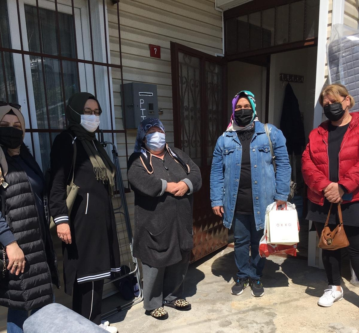 AK Parti Beykoz şehit ailelerini unutmadı! (2)