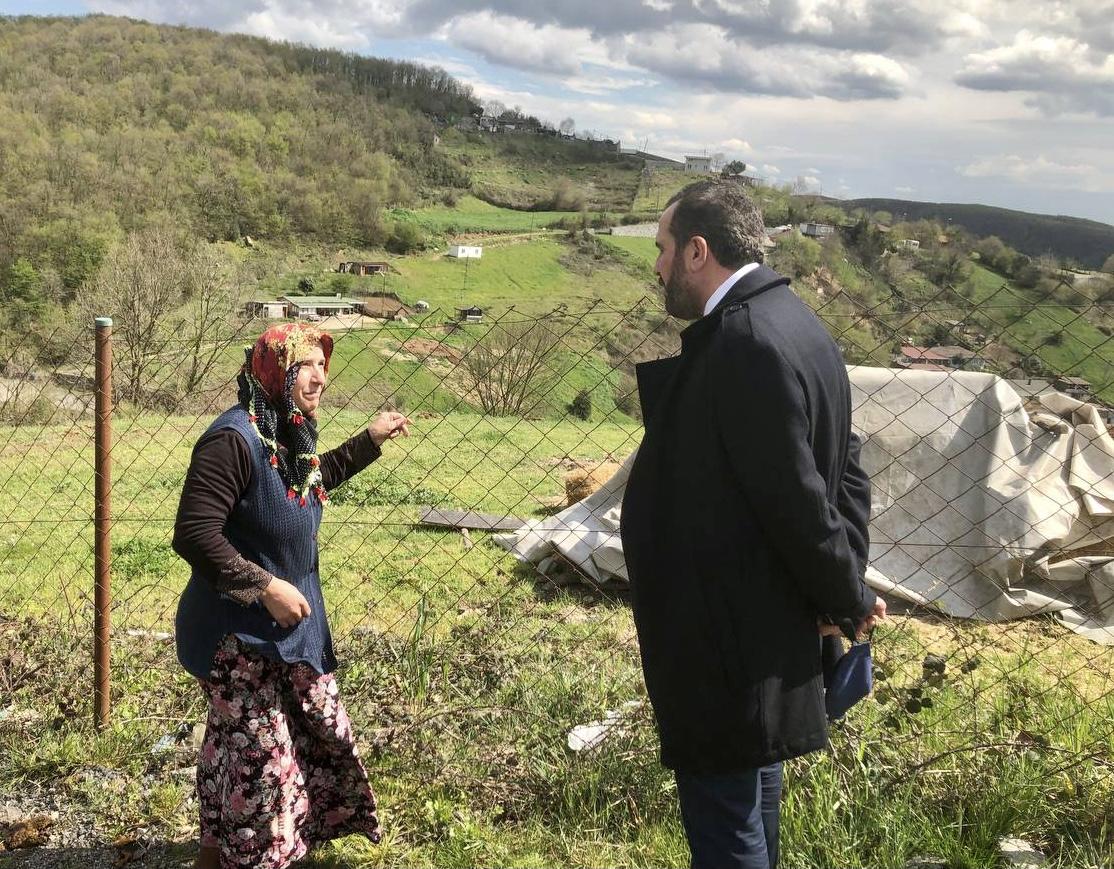AK Parti Beykoz şehit ailelerini unutmadı! (6)