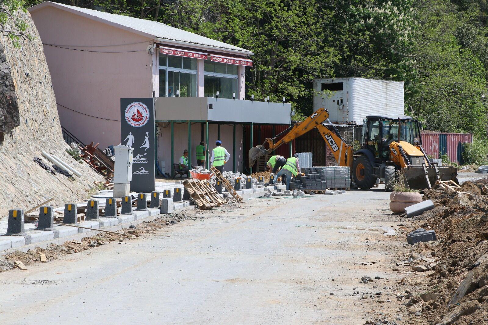 Poyrazköy Sokak Sağlıklaştırma Projesi Başladı (5)
