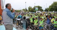 Beykoz'da Asgari Kalabalık Bisiklet Turları Başladı!..