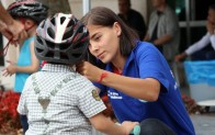 Belediye Meydanı'nda Temel Bisiklet Eğitimleri Sürüyor!..