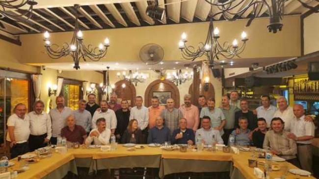 Denizciler Prof.Dr. Bayram Öztürk'ü tebrik ettiler.!