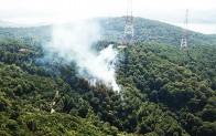 Anadolu Kavağı'nda yangın!..