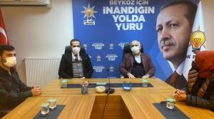 MHP Beykoz'dan hayırlı olsun ziyareti!..
