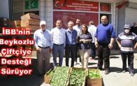 İBB'nin Beykozlu Çiftçiye Desteği Sürüyor!…